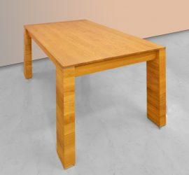 Tölgyfa bővíthető étkezőasztal