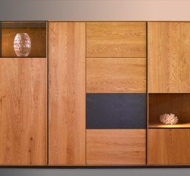 Tölgyfa szekrény